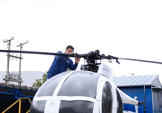 Técnico en Línea de Helicópteros