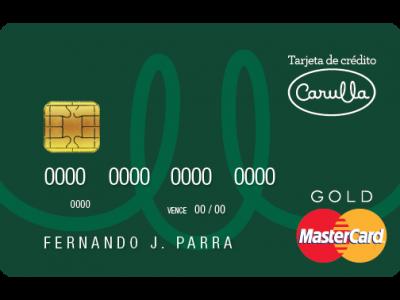 Tarjeta de créditoCARULLA B1-01