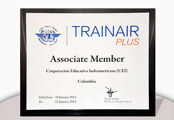 Certificación TRAINAIR PLUS
